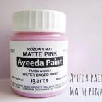 Ayeeda festék matt rózsaszín
