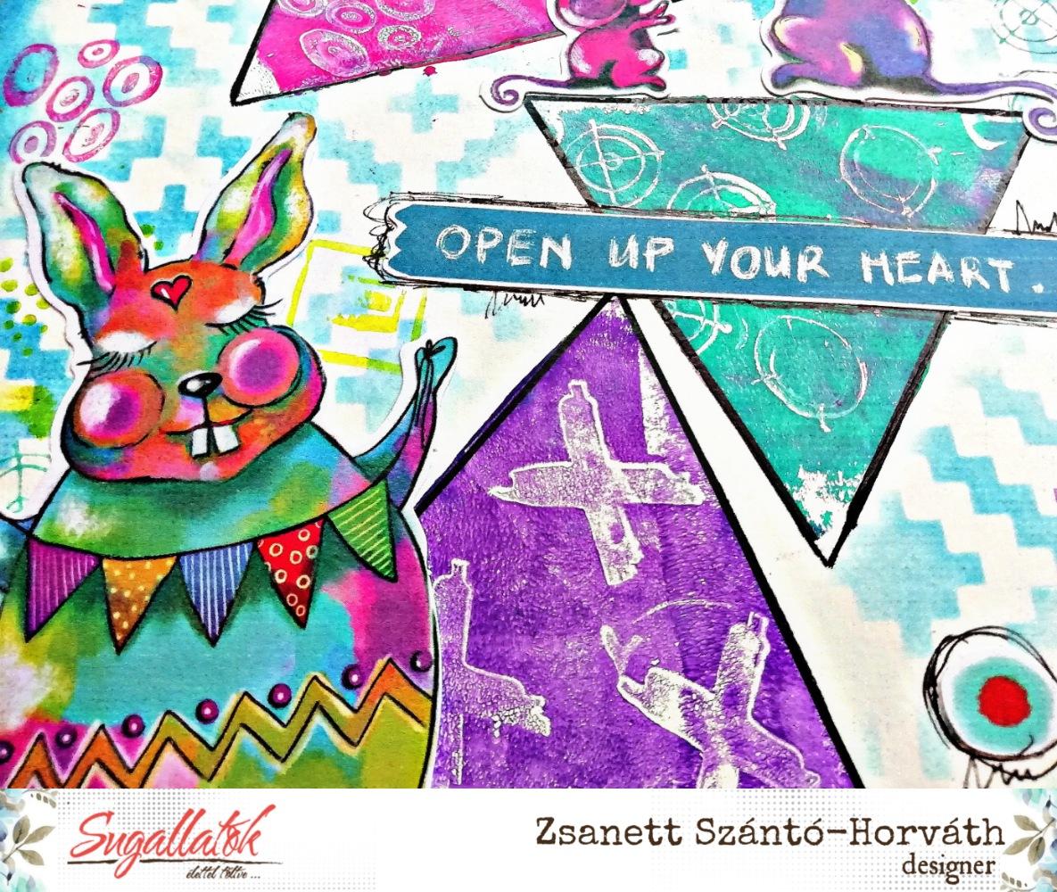 Nyisd ki a szíved